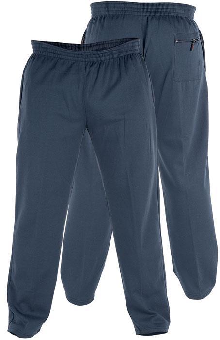 Dideliu dydziu sportines kelnes vyrams Albert tamsiai mėlynos KS1418-2