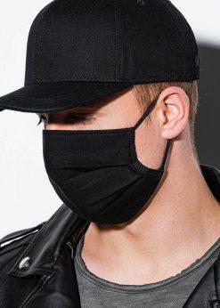 Juoda daugkartinė veido kaukė internetu pigiau 1 vnt. A260 14711-1
