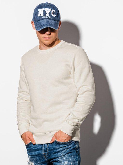 Rusvas vyriškas džemperis internetu pigiau B978 16119-1