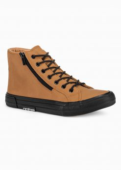 Rudi paaukštinti laisvalaikio batai vyrams internetu pigiau T352 16261-1