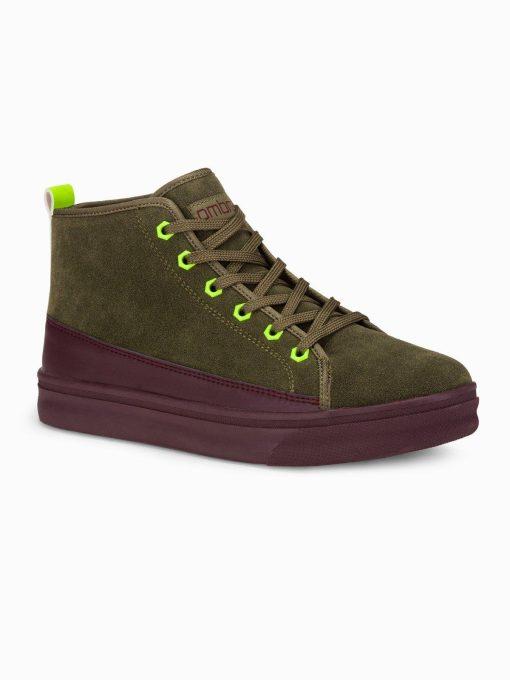 Chaki spalvos sneakers batai vyrams internetu pigiau T362 16265-1