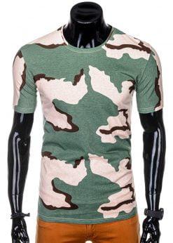 Kamufliažiniai vyriški marškinėliai internetu pigiau S1256 14834-1