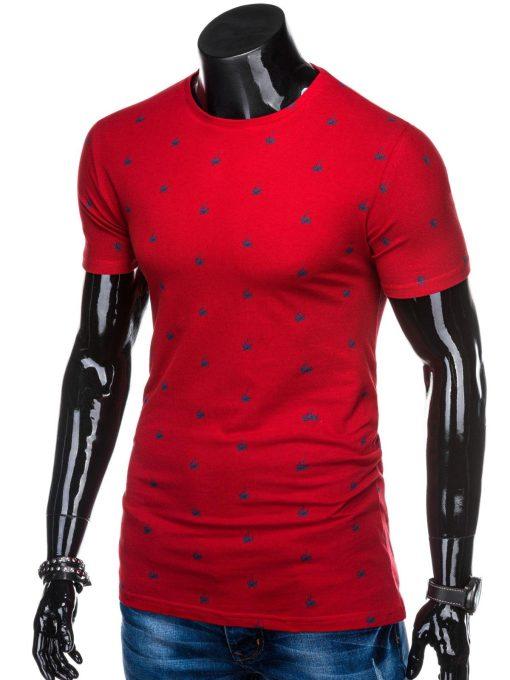Raudoni vyriski marskineliai internetu pigiau S1313 15342-2
