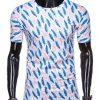Balti marginti vyriški marškinėliai internetu pigiau S1314 15343-1