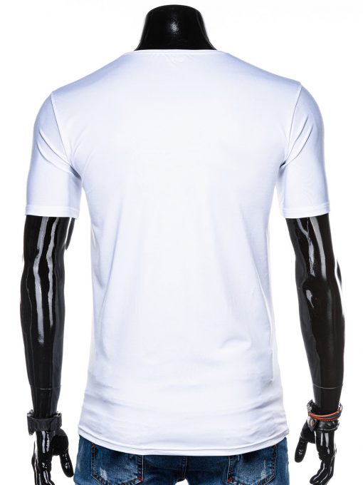 Balti marskineliai su uzrasu internetu pigiau S1316 15392-4