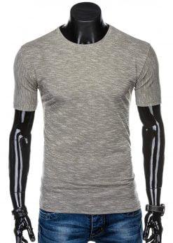 Rudi marškinėliai vyrams internetu pigiau S1323 15423-1