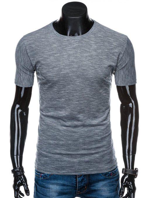 Tamsiai pilki marškinėliai vyrams internetu pigiau S1323 15424-3