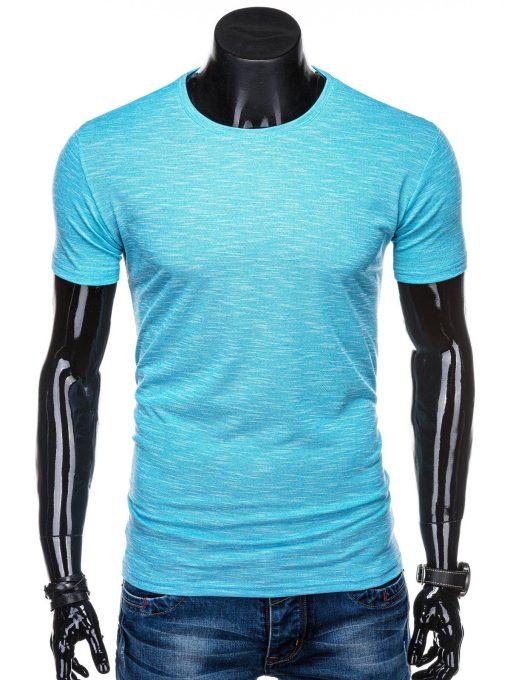 Žydri marškinėliai vyrams internetu pigiau S1323 15427-1