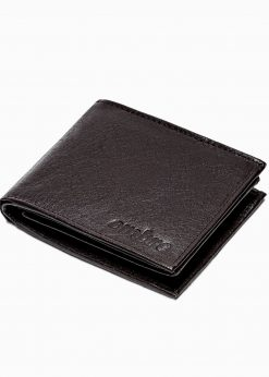 Ruda odinė vyriška piniginė internetu pigiau A304 16218-1