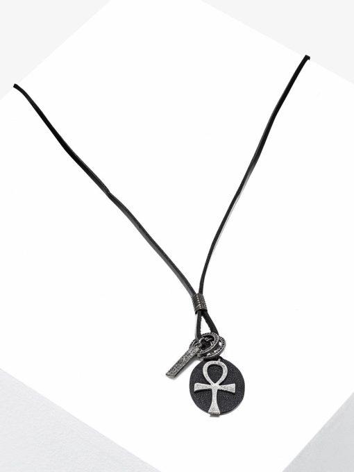 Vyriškas papuošalas ant kaklo su kryžiuku internetu pigiau A359 16737-1