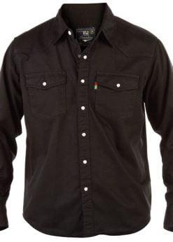 Didelių dydžių marškiniai vyrams džinsiniai WESTERN KS1024J-2