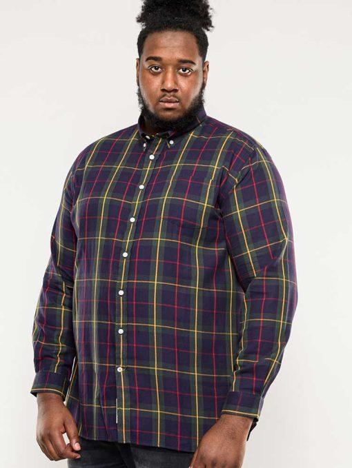 Didelių dydžių marškiniai vyrams ilgomis rankovėmis internetu pigiau Gladstone-110801TM-1