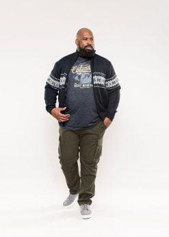Didelių dydžių vyriškas megztinis internetu pigiau Campbell-800811TM-1