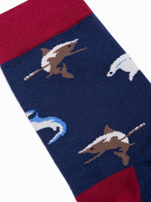 Tamsiai melynos vyriskos kojines internetu pigiau U111 17199-3