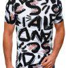 Balti marginti vyriški marškinėliai internetu pigiau S1393 17206-2