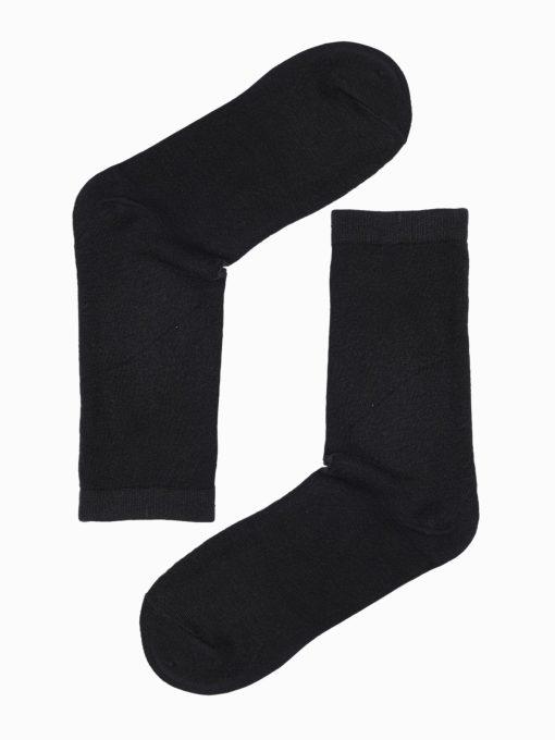 Juodos kokybiškos vyriškos kojinės internetu pigiau U97 17256-1