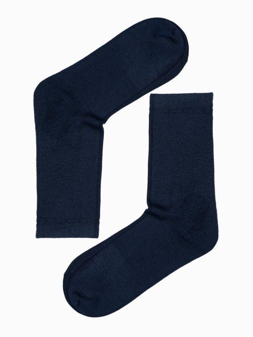Mėlynos kokybiškos vyriškos kojinės internetu pigiau U97 17257-1