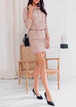 Rusva moteriska suknele internetu pigiau DLR003 17278-2