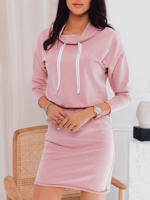 Rožinė moteriška suknelė internetu pigiau DLR003 17281-1