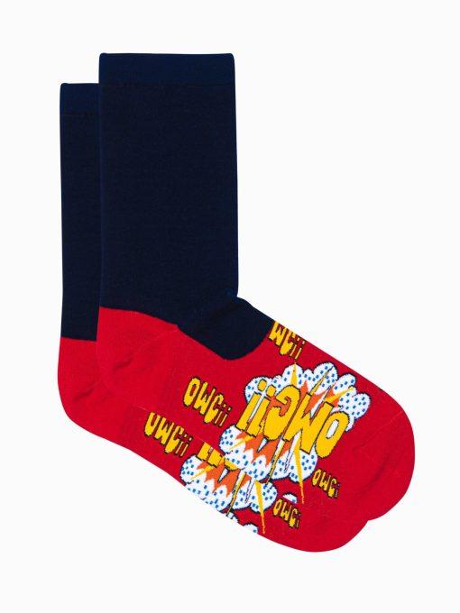 Raudonos vyriskos kojines su paveiksliukais internetu pigios U124 17324-2