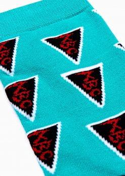 Kokybiškos vyriškos kojinės su paveiksliukais internetu U126 17326-3