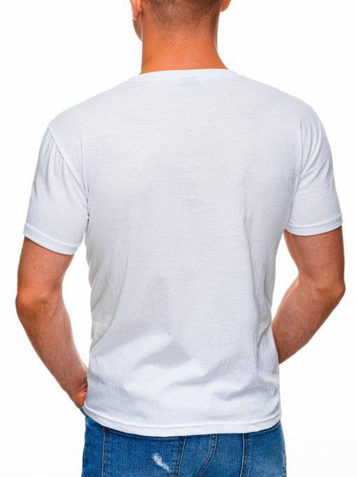 Balti marskineliai vyrams su uzrasu internetu pigiau S1400 17362-4