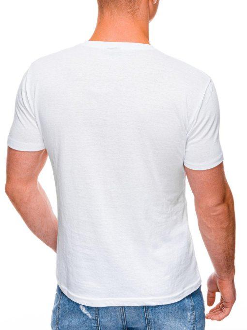 Balti marskineliai vyrams su nuotrauka internetu pigiau S1398 17398-4