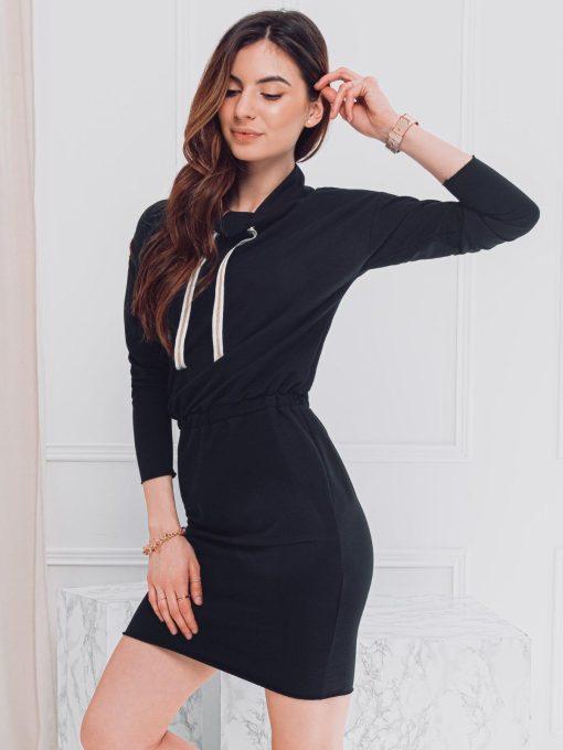 Juoda moteriška suknelė internetu pigiau DLR003 17279-3