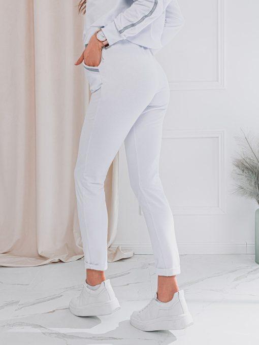 Baltas sportinis kostiumas internetu pigiau ZLR001 17659-1