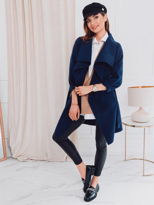 Moteriskas paltas pavasarinis internetu pigiau CLR011 17902-2