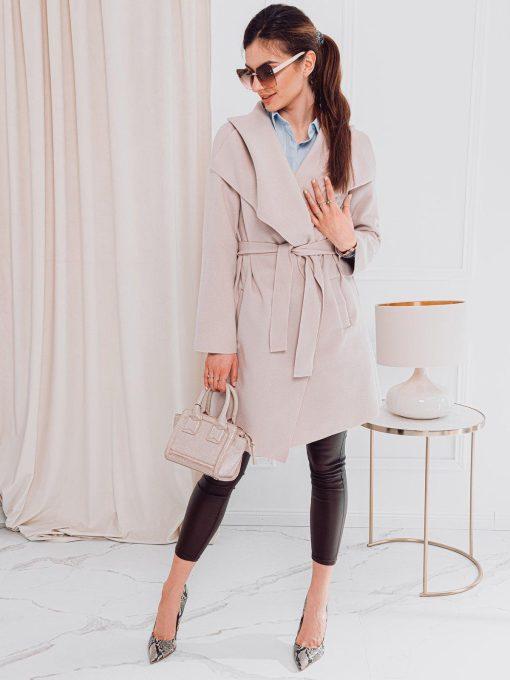 Moteriskas paltas pavasariui internetu pigiau CLR011 17905-2