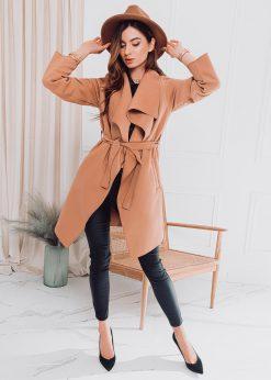 Rudas moteriškas paltas internetu pigiau CLR011 17909-3