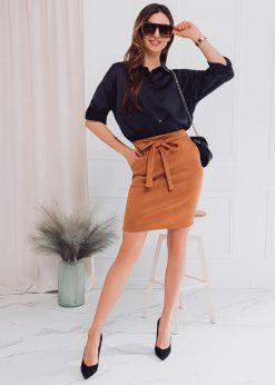Rudas moteriškas sijonas internetu pigiau GLR003 18008-1