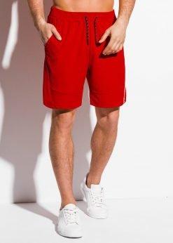 Raudoni sportiniai sortai vyrams internetu pigiau W316 18026-3