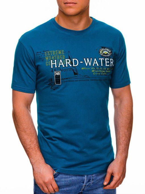 Turkio vyriški marškinėliai su užrašu pigiau internetu S1431 18044-1