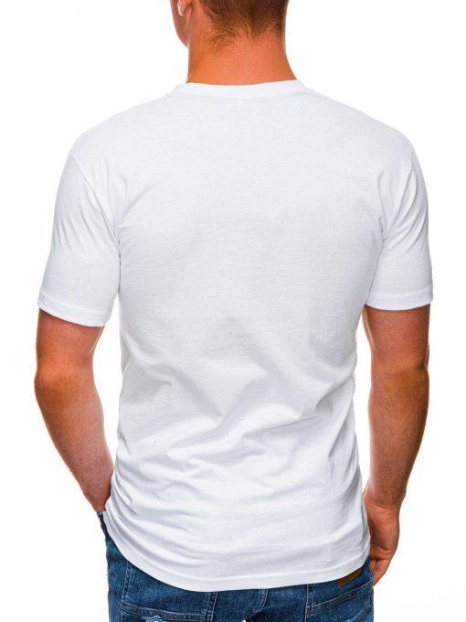 Balti marskineliai su uzrasu pigiau internetu S1430 18063-3