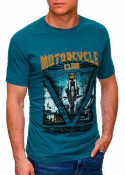 Turkio vyriški marškinėliai su užrašu internetu pigiau S1433 18148-1