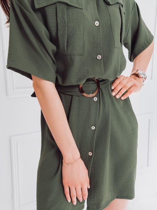Chaki moteriska suknele internetu pigiau DLR006 18237-3