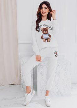 Rusvas moteriškas sportinis kostiumas internetu pigiau ZLR007 18558-6