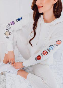 Baltasmoteriskas sportinis kostiumas internetu pigiau ZLR009 18560-5