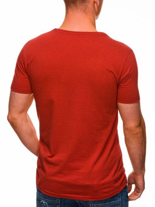 Raudoni marskineliai su uzrasu nasa internetu pigiau S1437 18718-1