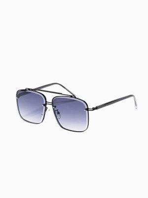 Juodi vyriški akiniai nuo saulės internetu pigiau A374 18998-1