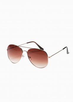 Auksiniai vyriški akiniai nuo saulės internetu pigiau A369 19001-1