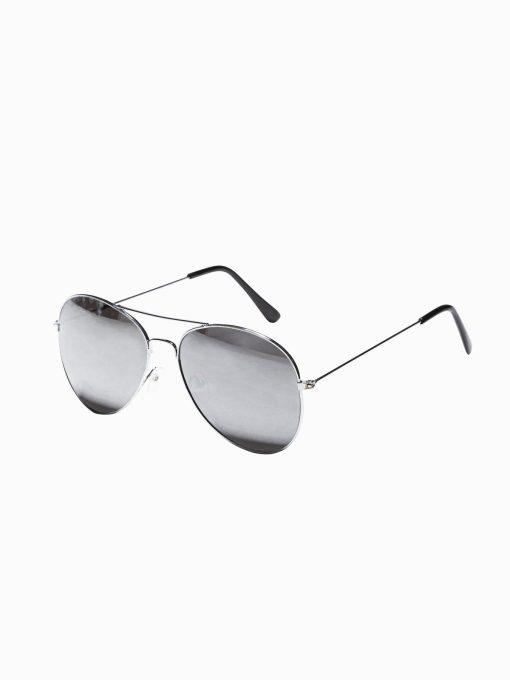 Sidabriniai vyriški akiniai nuo saulės internetu pigiau A369 19003-1