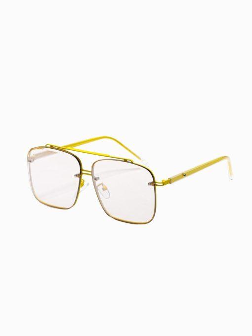 Geltoni vyriški akiniai nuo saulės internetu pigiau A374 19004-1