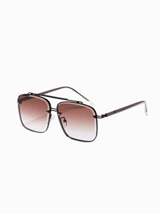 Rudi vyriški akiniai nuo saulės internetu pigiau A374 19005-1