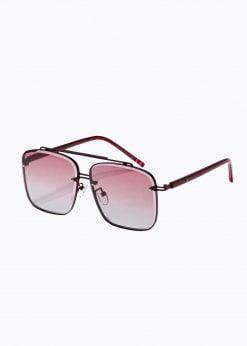 Raudoni vyriški akiniai nuo saulės internetu pigiau A374 19007-1