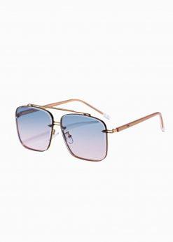 Auksiniai vyriški akiniai nuo saulės internetu pigiau A374 19010-1