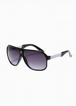 Juodi vyriški akiniai nuo saulės internetu pigiau A372 19011-1
