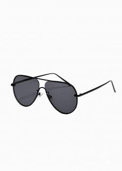 Juodi vyriški akiniai nuo saulės internetu pigiau A373 19013-1